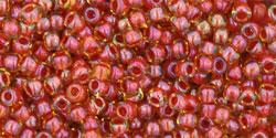 TR15 #951 радужный светлый топаз внутренний цвет красный кирпич
