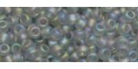 TR15 #176F: прозрачный радужный матовый черный бриллиант