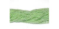 Искусственный жемчуг светло-зелёный 4мм, 50шт. (Чехия)