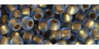 TR15 #997F матовый радужный светлый сапфир золотая внутренняя линия