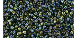 TT01 #180 прозрачный радужный оливин