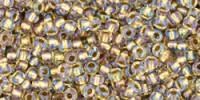 TR11 #262  хрусталь золотая внутренняя линия