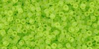 TR15 #4F прозрачно-матовый зеленый лайм