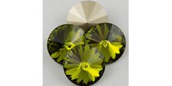 Swarowsky Rivoli Crystal 228 Olivin 14mm