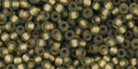 TR11 #999F матовый черный бриллиант золотая внутренняя линия