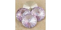 Swarowsky Rivoli Crystal 371 Violet 12mm