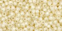TR11 #2125 молочный светлый бледно-желтый серебряная внутренняя линия