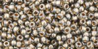 TR15 #993: чёрный бриллиант золотая внутренняя линия