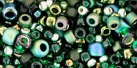 TX01-3209: Микс Bonsai зеленых и черных оттенков