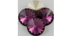 Swarowsky Rivoli Crystal 204 Amethyst 14mm