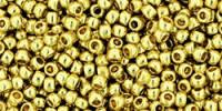 TR11 #PF559 гальванизированный жёлтое золото Permanent Finish