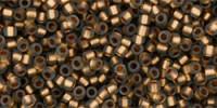 TR15 #999F матовый черный бриллиант золотая внутренняя линия
