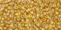 TR11 #162 прозрачный радужный светлый топаз
