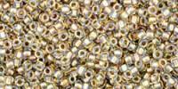 TR15 #262: хрусталь золотая внутренняя линия